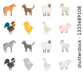 vector design of breeding and... | Shutterstock .eps vector #1335689108