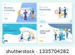 websites with business... | Shutterstock .eps vector #1335704282