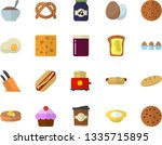 color flat icon set knives flat ...   Shutterstock .eps vector #1335715895