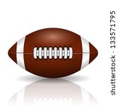american football | Shutterstock . vector #133571795