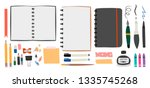 big set for sketching. various... | Shutterstock .eps vector #1335745268