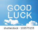 Good Luck A Cloud  Massage On...