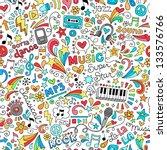 Music Seamless Pattern Groovy...