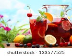 Refreshing Sangria  Punch  With ...