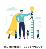 vector creative illustration of ... | Shutterstock .eps vector #1335798005