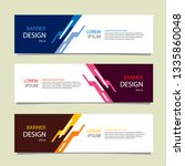 banner background modern... | Shutterstock .eps vector #1335860048