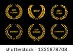 sport awards and best nominee... | Shutterstock .eps vector #1335878708