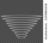 abstract vortex tornado on...   Shutterstock .eps vector #1335881018