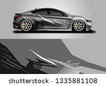 livery decal car vector  ... | Shutterstock .eps vector #1335881108