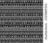 tribal art  ethnic seamless... | Shutterstock .eps vector #1335889352