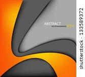 vector background dimension 3d... | Shutterstock .eps vector #133589372
