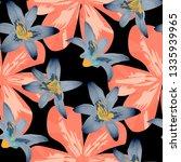 philippine flowers. modern... | Shutterstock .eps vector #1335939965