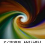 colorful round blur paint.... | Shutterstock .eps vector #1335962585