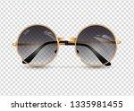 women's sunglasses isolated...   Shutterstock .eps vector #1335981455