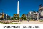 buenos aires argentina   dec 25 ...   Shutterstock . vector #1336012508
