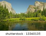 View Of Yosemite Valley  The...