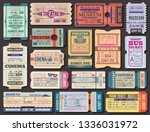 cinema  museum and theatre... | Shutterstock .eps vector #1336031972