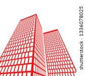 city architecture building  icon | Shutterstock .eps vector #1336078025