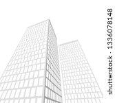 city architecture building  icon | Shutterstock .eps vector #1336078148