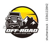 off road logo | Shutterstock .eps vector #1336122842