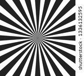 white and black ray burst style ... | Shutterstock .eps vector #1336132595