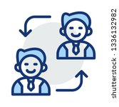 replace   employee   user   | Shutterstock .eps vector #1336132982