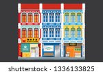 colorful and historical... | Shutterstock .eps vector #1336133825