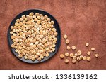 organic peeled tiger nuts  a... | Shutterstock . vector #1336139162
