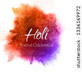 celebrate festival colorful... | Shutterstock .eps vector #1336169972
