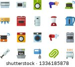 color flat icon set   clinch...   Shutterstock .eps vector #1336185878