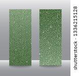 vector business vertical cards  ... | Shutterstock .eps vector #1336215128