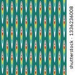 the traditional uzbek atlas...   Shutterstock .eps vector #1336236008
