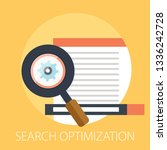 vector search optimization... | Shutterstock .eps vector #1336242728