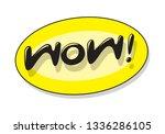 speech bubble  vector | Shutterstock .eps vector #1336286105