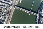 aerial top down view of sint... | Shutterstock . vector #1336298408
