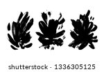 collection of black... | Shutterstock .eps vector #1336305125