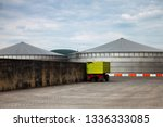 production of biogas in modern... | Shutterstock . vector #1336333085