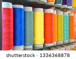 large colorful polypropylene... | Shutterstock . vector #1336368878
