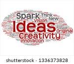 vector concept or conceptual... | Shutterstock .eps vector #1336373828
