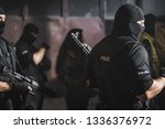 police special forces. | Shutterstock . vector #1336376972