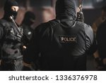 police special forces.  | Shutterstock . vector #1336376978