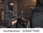 police special forces.  | Shutterstock . vector #1336377002