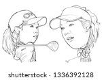 march 12  2019 caricature of... | Shutterstock . vector #1336392128