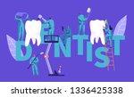 dentist character clean big... | Shutterstock .eps vector #1336425338
