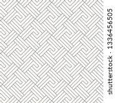 geometric vector pattern ... | Shutterstock .eps vector #1336456505