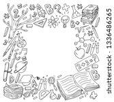 school  college  university ... | Shutterstock .eps vector #1336486265
