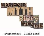 legend  myth  story  fairy tale ... | Shutterstock . vector #133651256