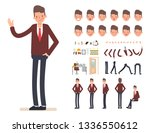 businessman character creation... | Shutterstock .eps vector #1336550612