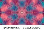 geometric design  isometric... | Shutterstock .eps vector #1336570592