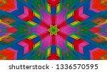 geometric design  isometric... | Shutterstock .eps vector #1336570595